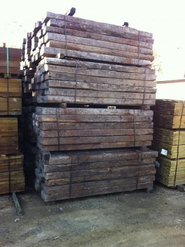 Genuine Ex-Qld Rail – Railway Sleepers