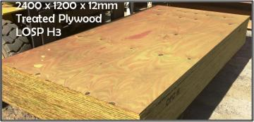 H3Treated CD Utility Plywood